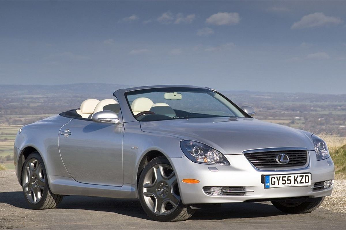 Lexus Sc430 2001 Car Review Honest John