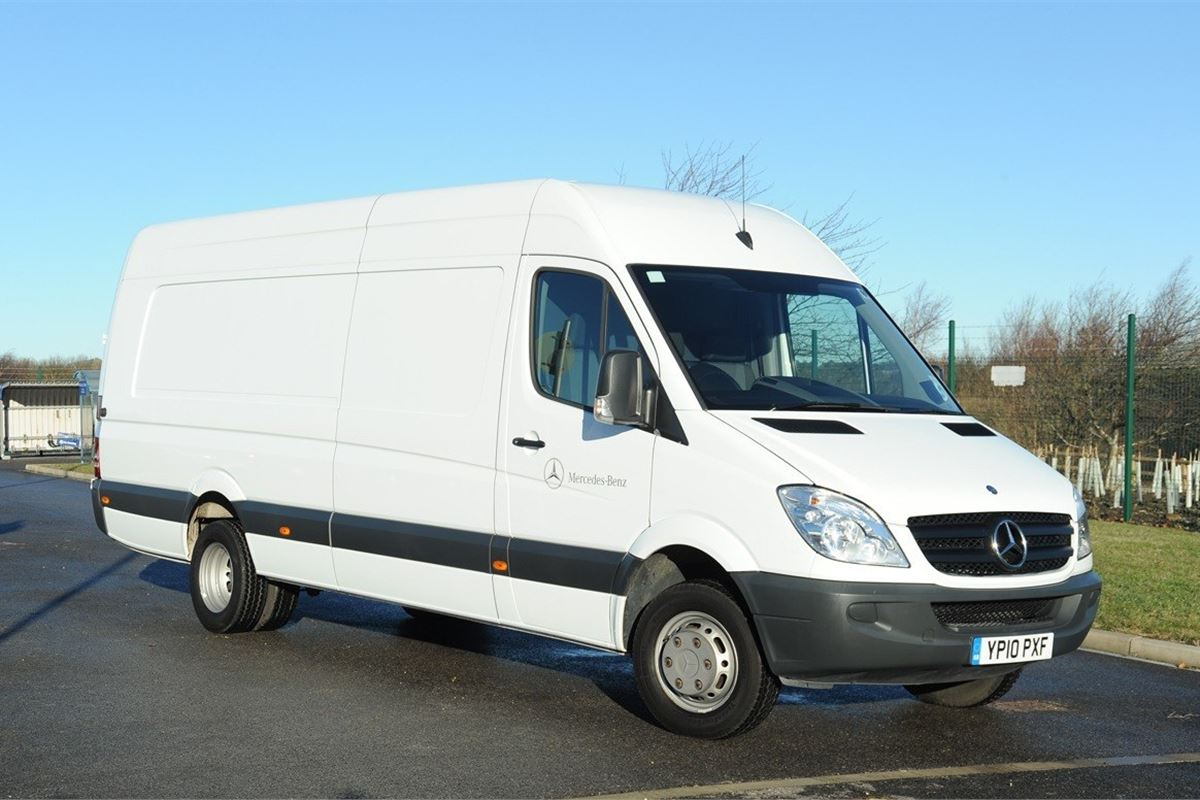 Mercedes benz sprinter 2006 van review honest john for Mercedes benz work vans