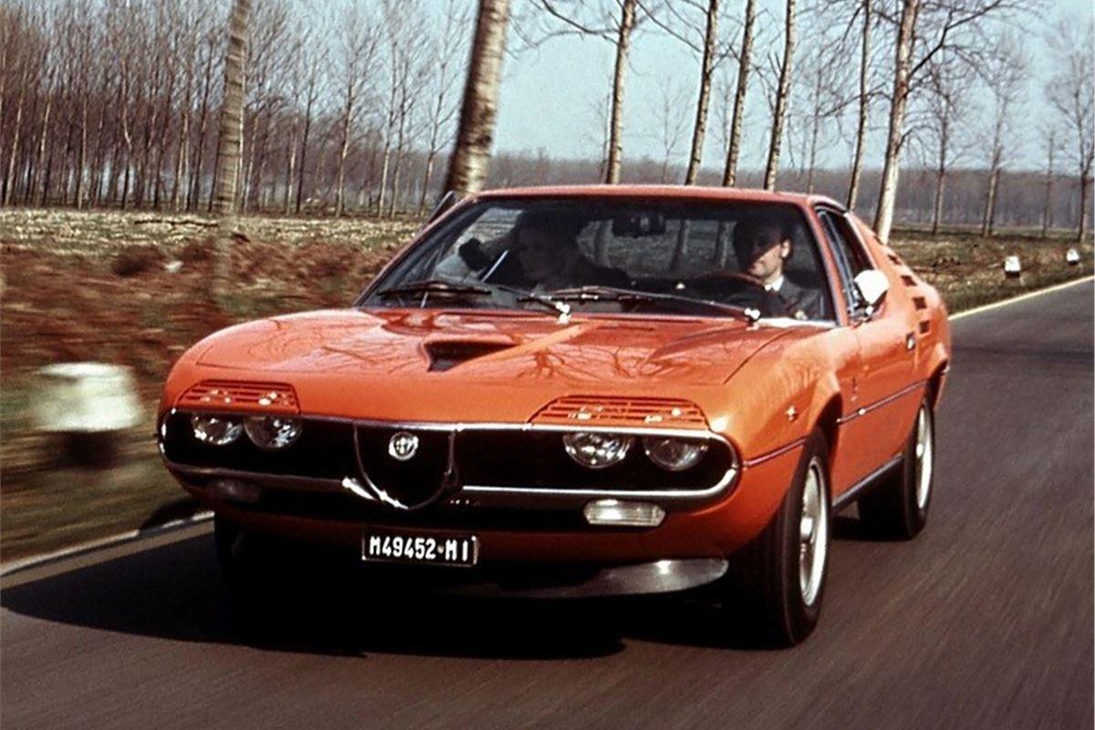 alfa romeo montreal classic car review honest john. Black Bedroom Furniture Sets. Home Design Ideas