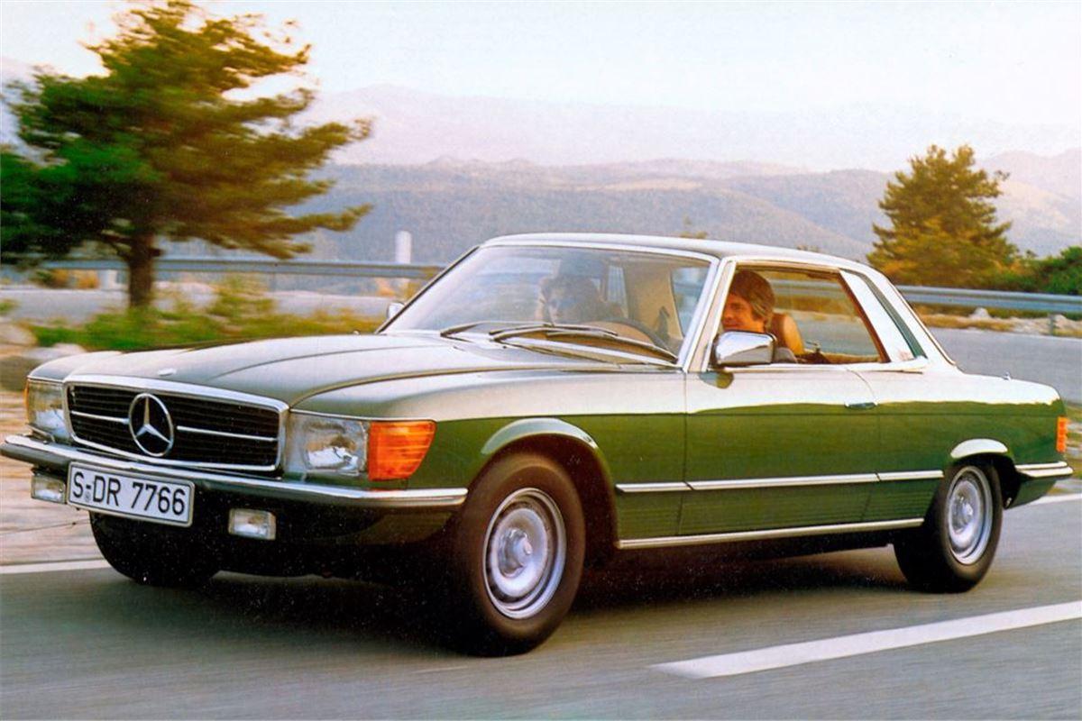 Mercedes benz slc c107 classic car review honest john for Mercedes benz loveland co