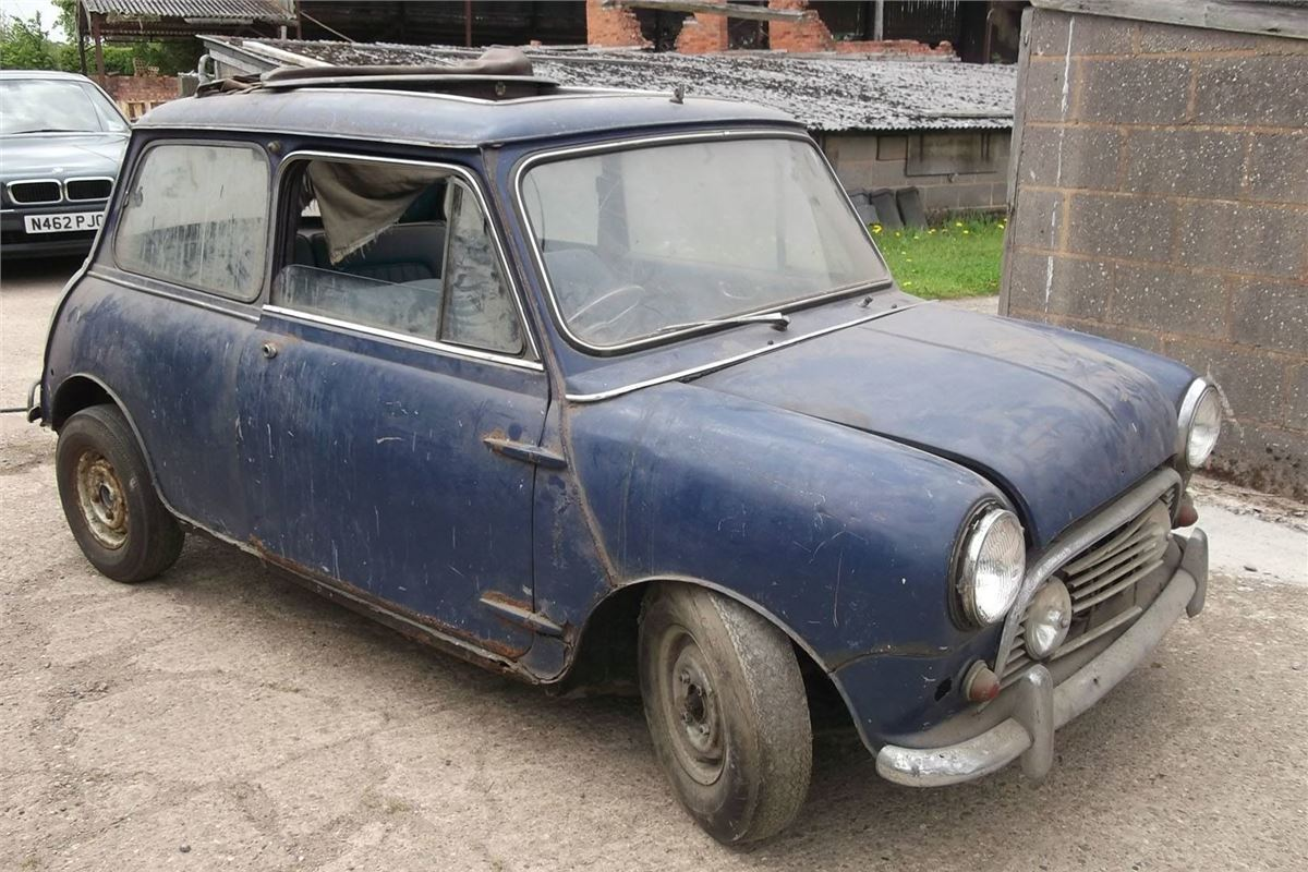 Garage Find Mini Expected To Make 20 000 This Weekend