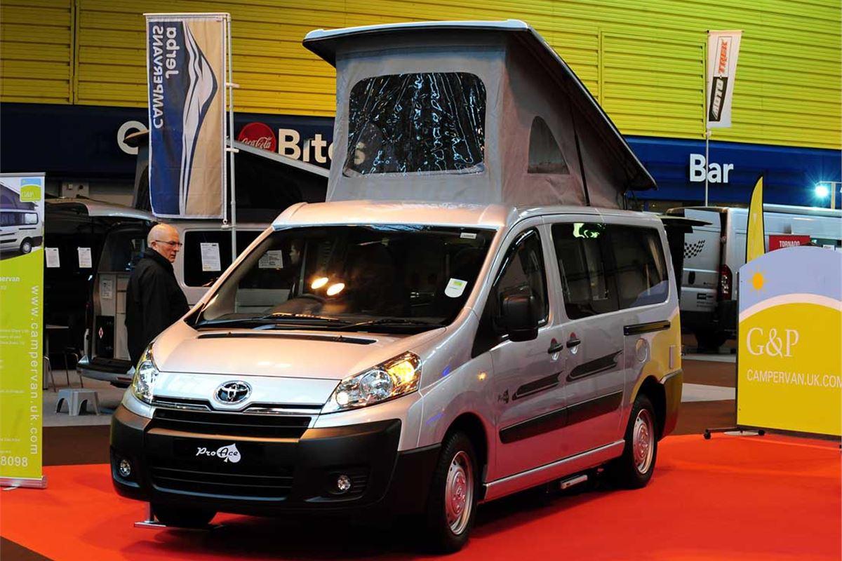 Toyota Proace Camper Conversion Unveiled Honest John