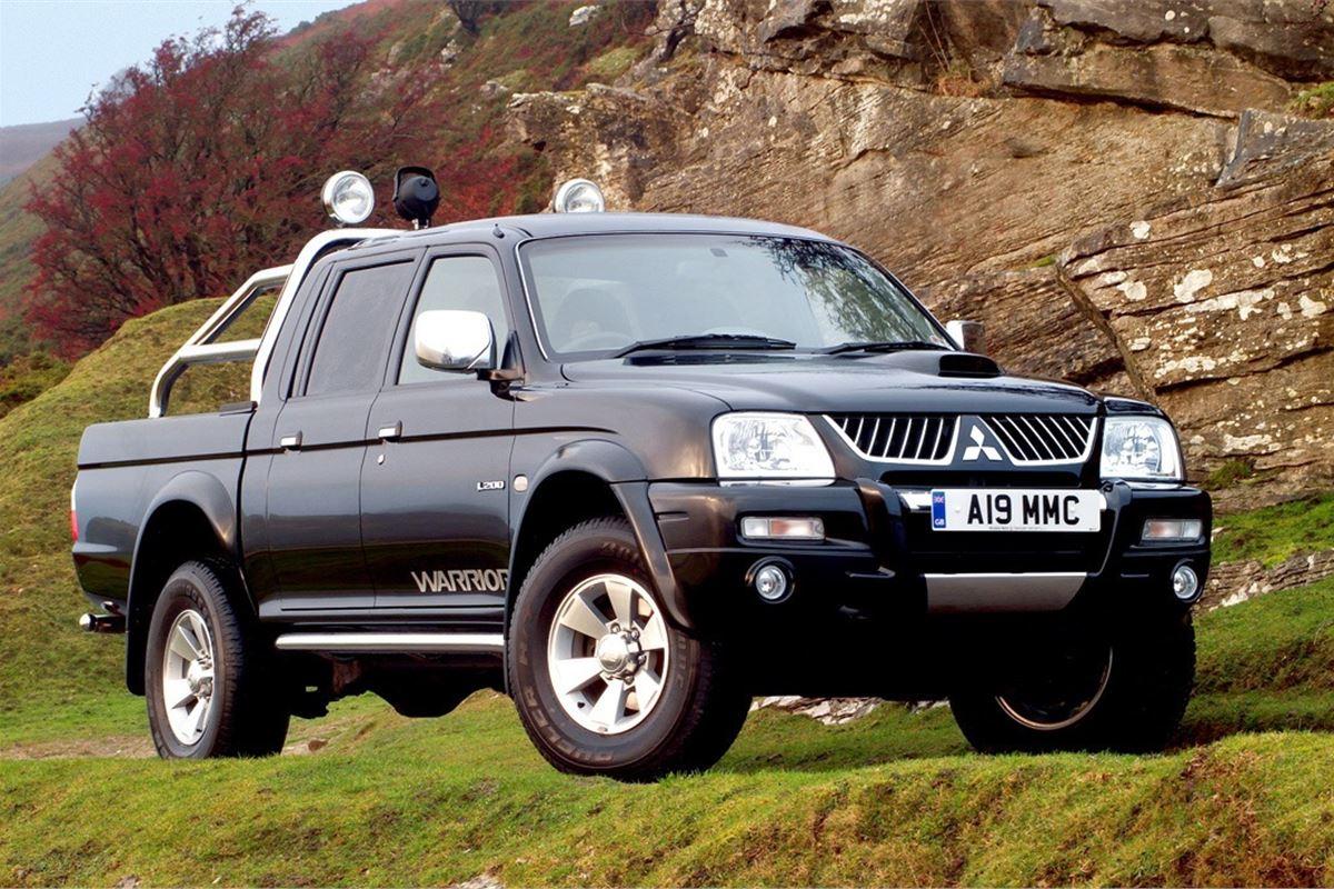 Mitsubishi l200 2000 car review honest john for Garage mitsubishi paris