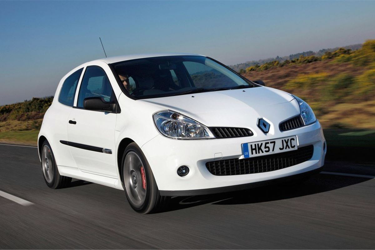 Renault Clio Renaultsport 2006 Car Review Honest John