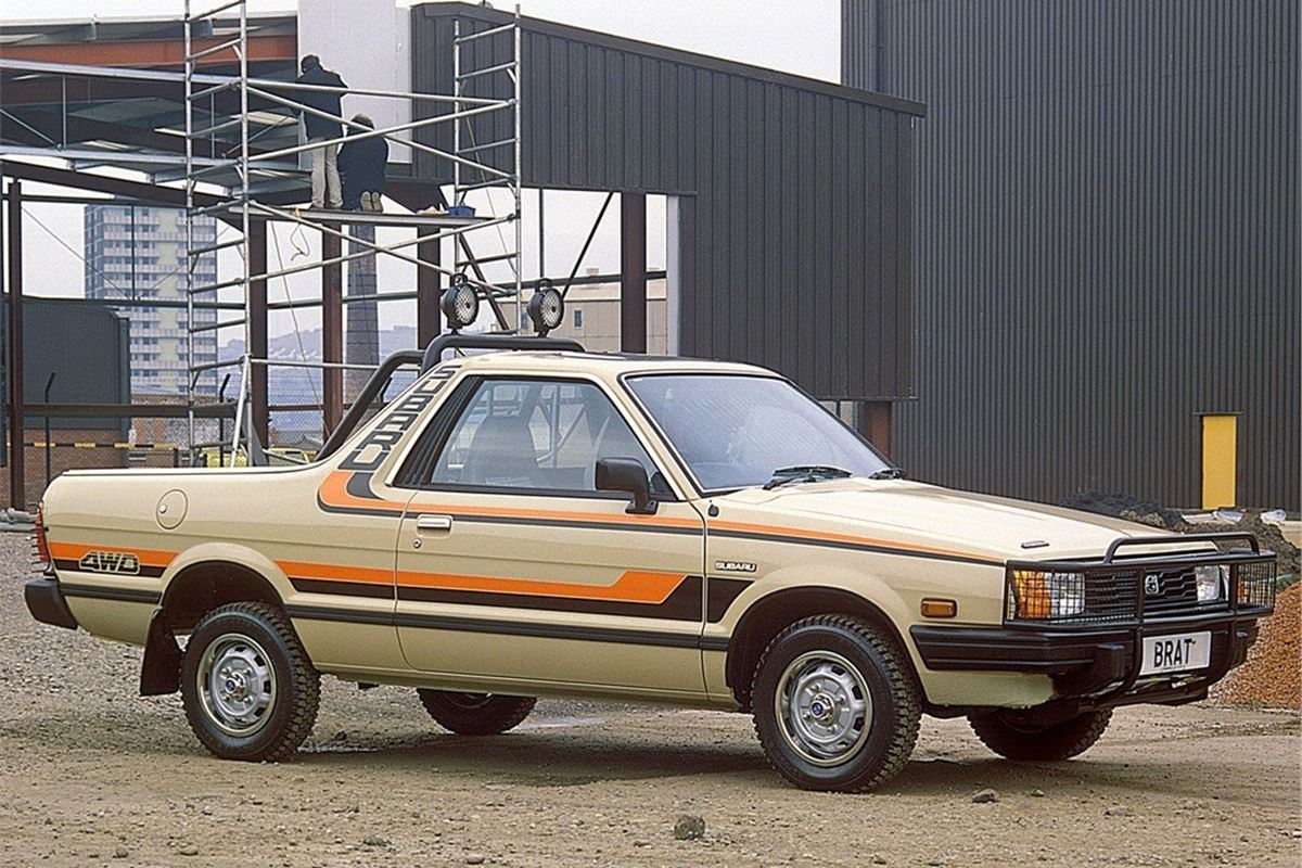 Subaru BRAT - Classic Car Review | Honest John