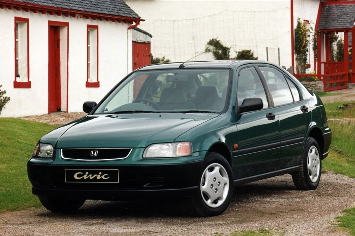 Honda Civic 1995 Car Review Honest John