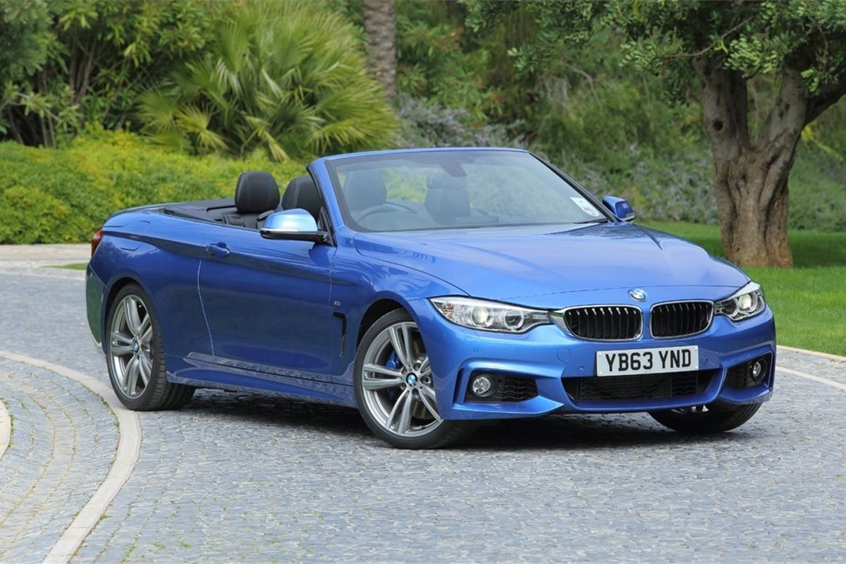 bmw 4 series f33 convertible 2014 car review honest john. Black Bedroom Furniture Sets. Home Design Ideas
