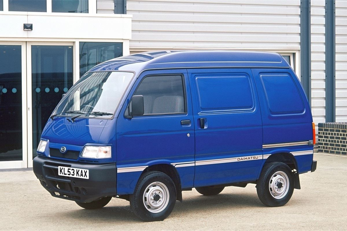 Daihatsu Hijet 1995 Car Review Honest John
