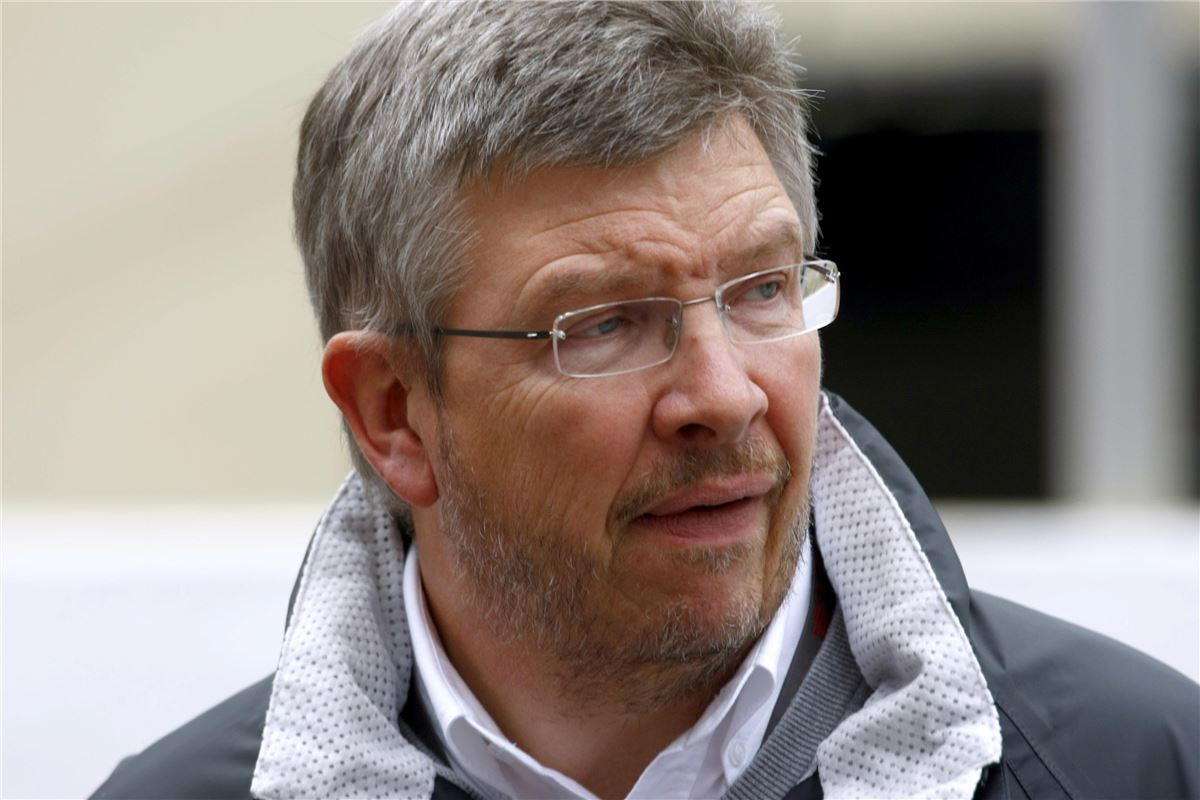 how tall is ross brawn
