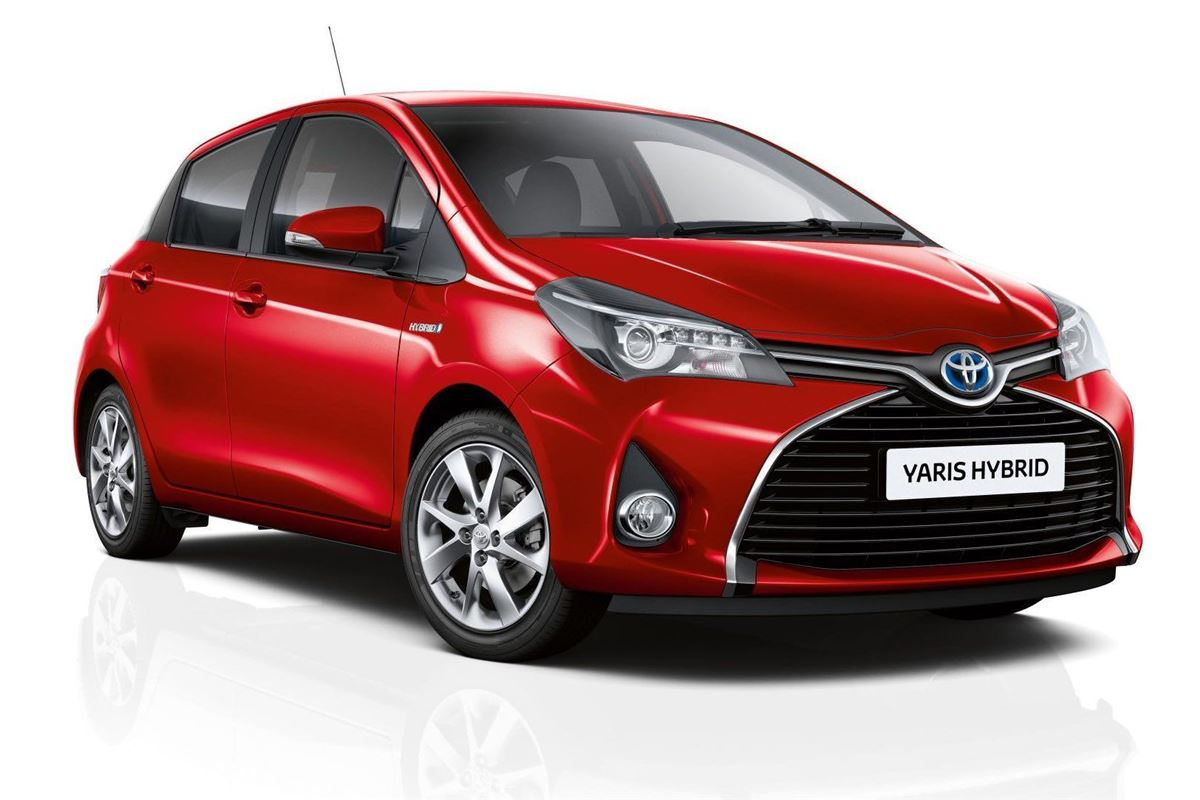 toyota unveils its cheapest new hybrid   the yaris active