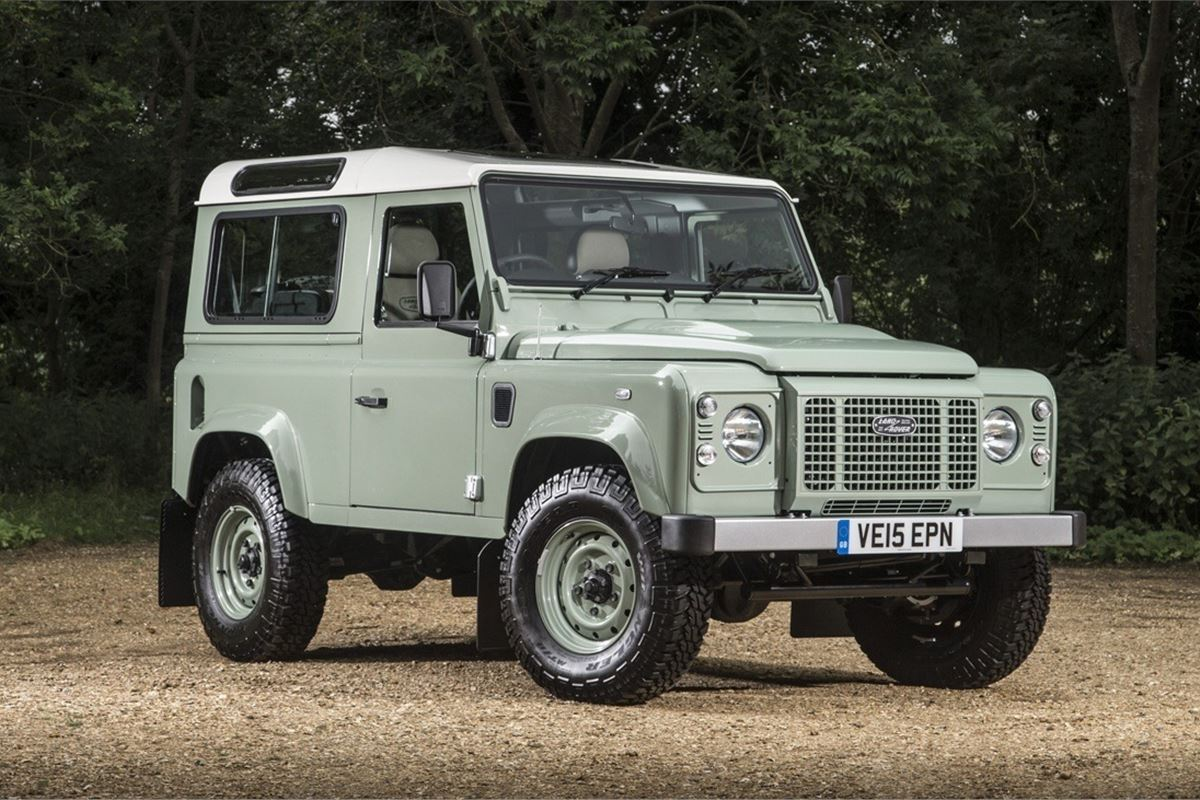 Land Rover Defender 90 Heritage 2016 Road Test Road Tests Honest John
