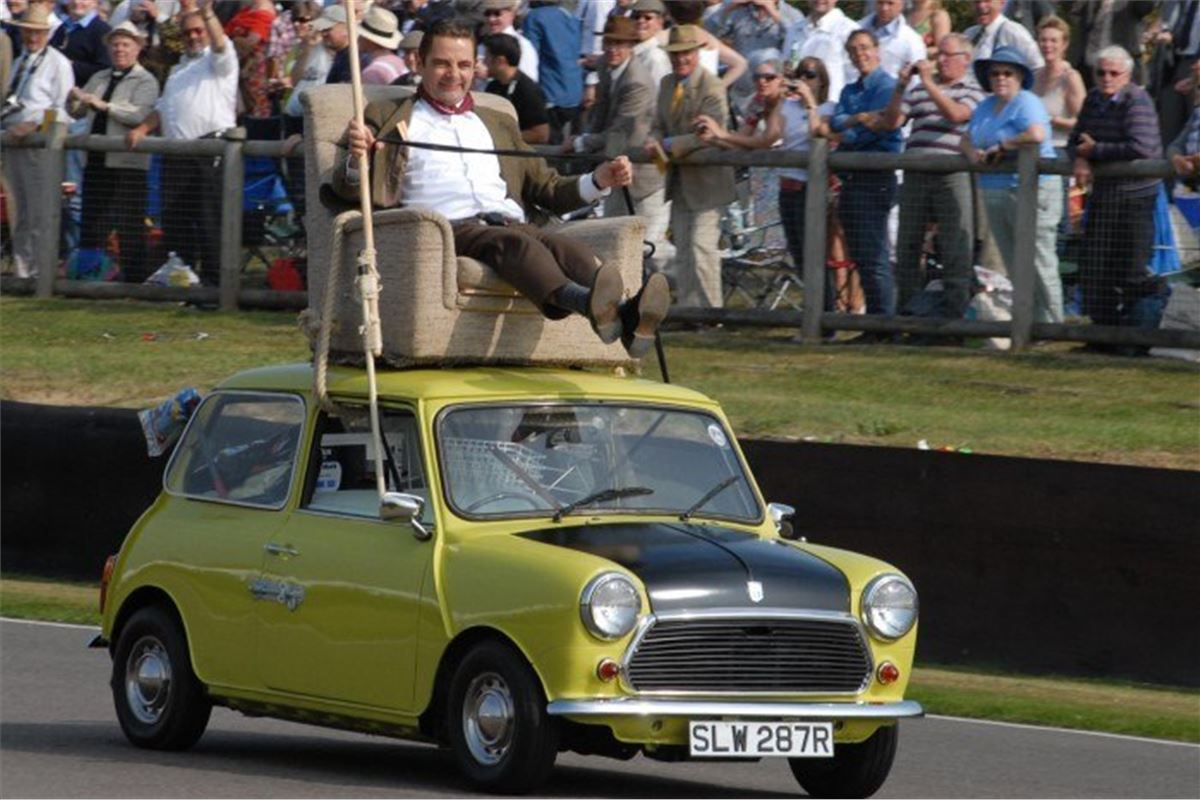 Mr Bean S Armchair Mini Up For Auction Motoring News