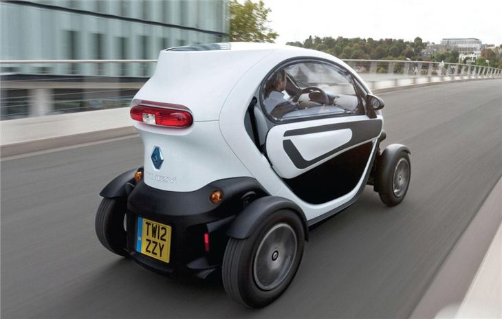 twizy renault interior driving honestjohn