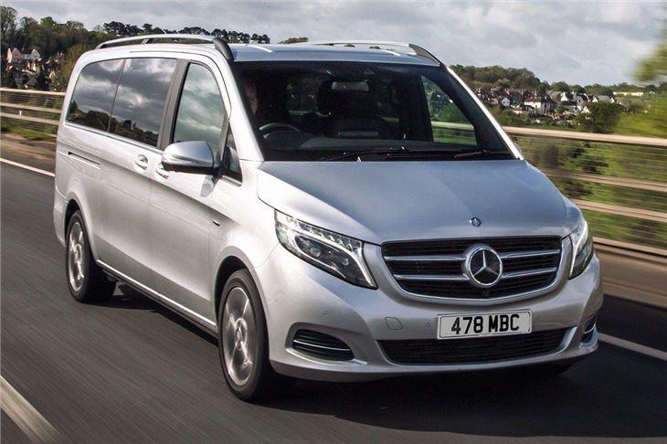Mercedes Benz V Class 2015 Van Review Honest John