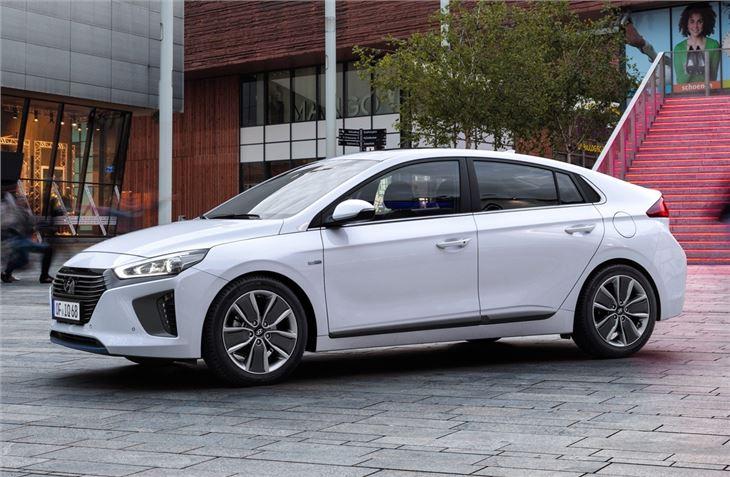 Hyundai ioniq test