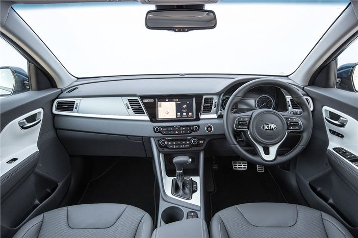 Kia niro 2016 car review honest john for Interior kia niro