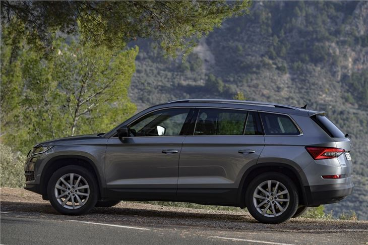 skoda kodiaq 2 0 tdi 150 2016 road test road tests honest john. Black Bedroom Furniture Sets. Home Design Ideas
