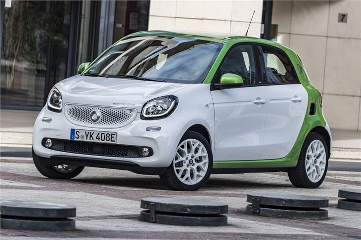 Smart Forfour Electric Drive 2017 Road Test Road Tests