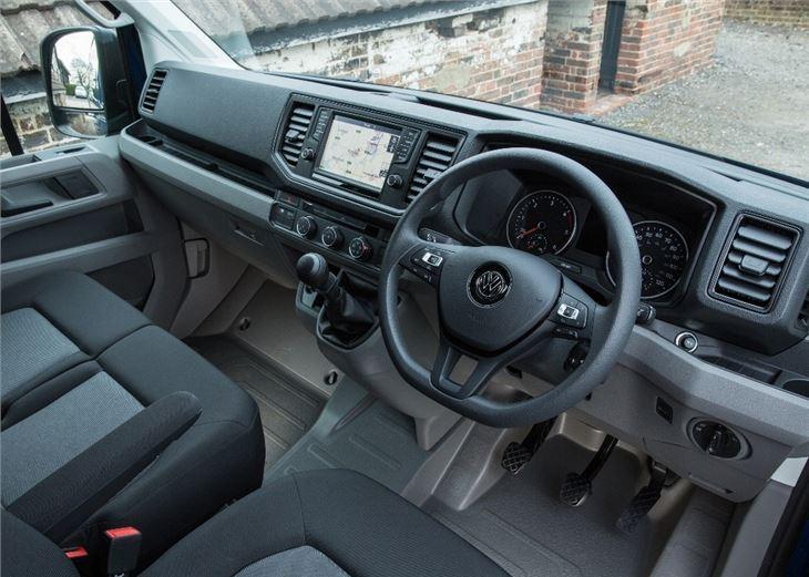 Volkswagen Crafter 2017 Van Review Honest John