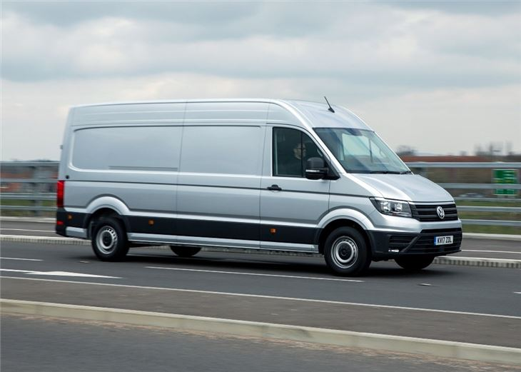 Volkswagen Crafter 2017 Van Review Honest John