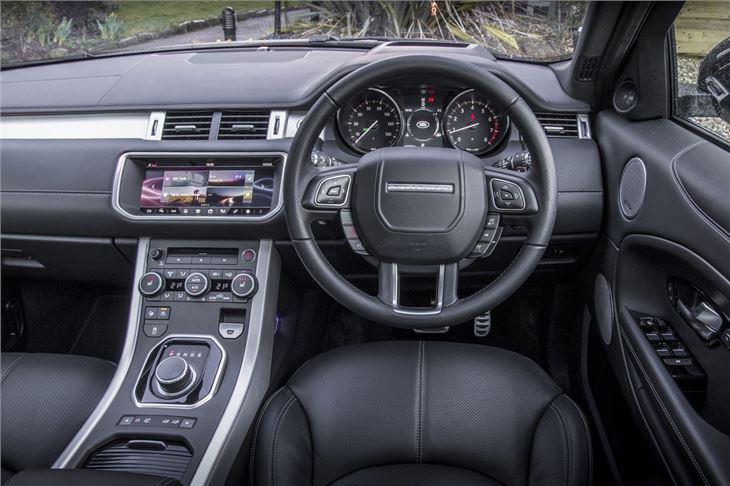 Land Rover Range Rover Evoque 2011 Car Review Interior
