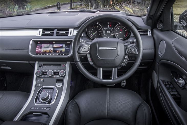 Jaguar F Pace Interior >> Land Rover Range Rover Evoque 2011 - Car Review - Interior ...