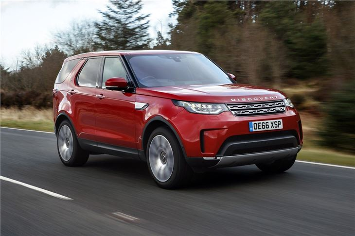 Land rover discovery 2017 car review model history - Land rover discovery interior dimensions ...