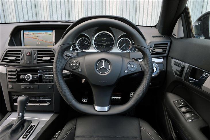 Mercedes Benz E Class W212 2009 Car Review Interior Honest John