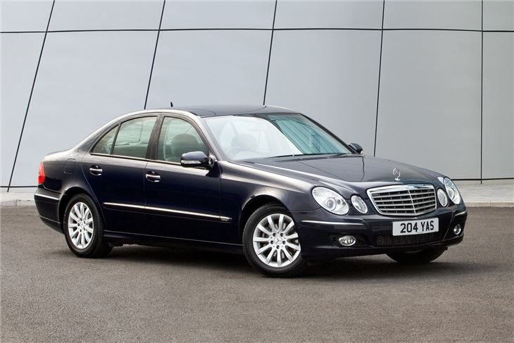Mercedes benz e class w211 2002 car review honest john for Mercedes benz e class models