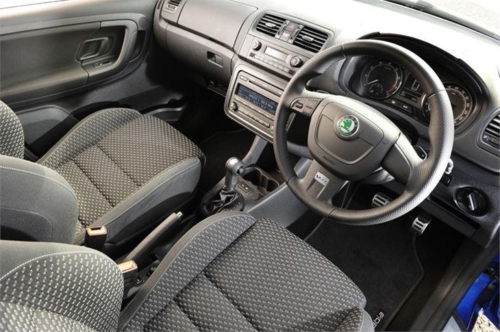 Skoda Fabia Vrs 2010 Car Review Interior Honest John