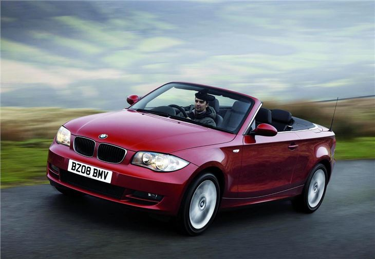 bmw 1 series convertible e83 2008 car review honest john. Black Bedroom Furniture Sets. Home Design Ideas