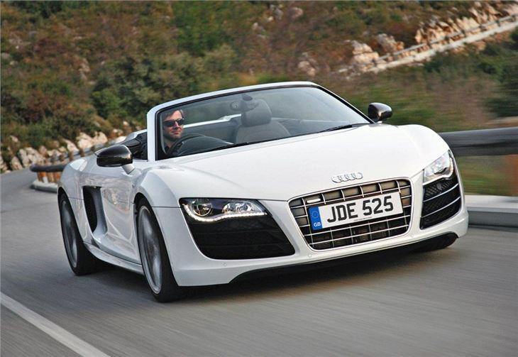 audi r8 spyder 2010 car review honest john