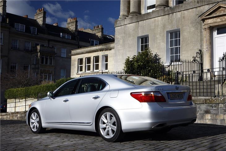 lexus ls 600h 2006 car review honest john. Black Bedroom Furniture Sets. Home Design Ideas
