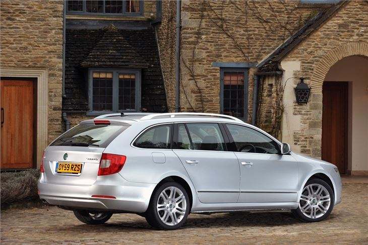 Skoda Superb Estate 2010 Car Review Honest John