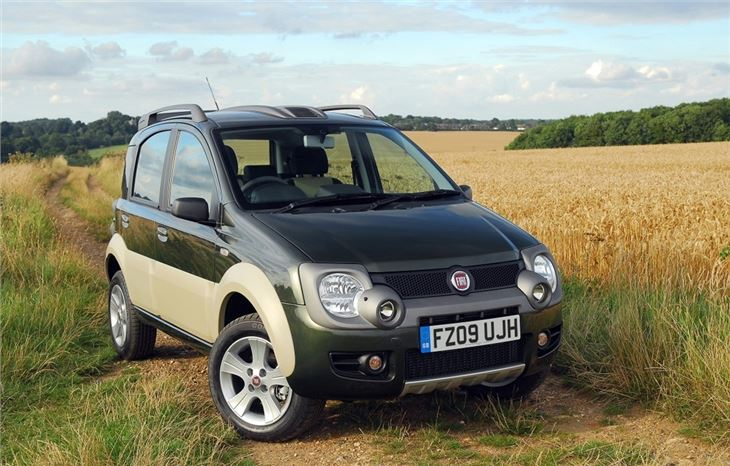 fiat panda 4x4 2005 car review honest john. Black Bedroom Furniture Sets. Home Design Ideas
