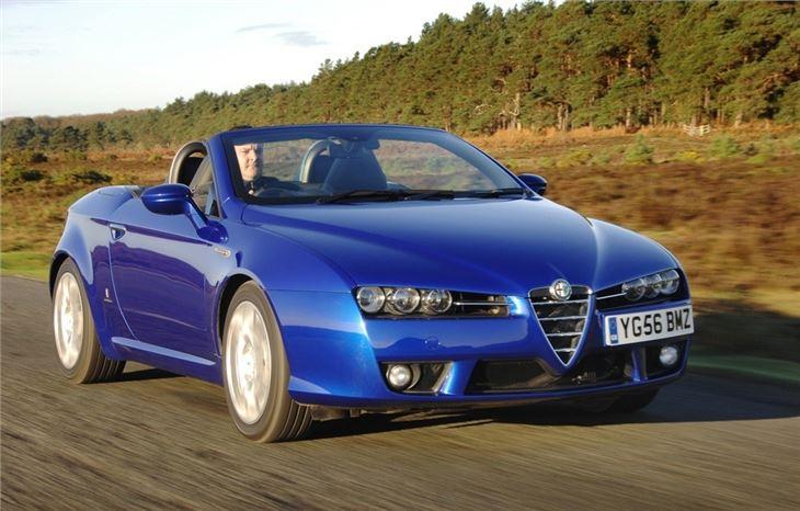 Compare Car Insurance Quotes >> Alfa Romeo Spider 2007 - Car Review   Honest John