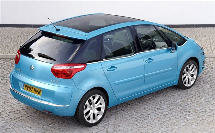 citroen c4 picasso 2007 car review honest john. Black Bedroom Furniture Sets. Home Design Ideas