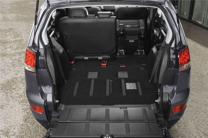 citroen c crosser 2007 car review honest john. Black Bedroom Furniture Sets. Home Design Ideas