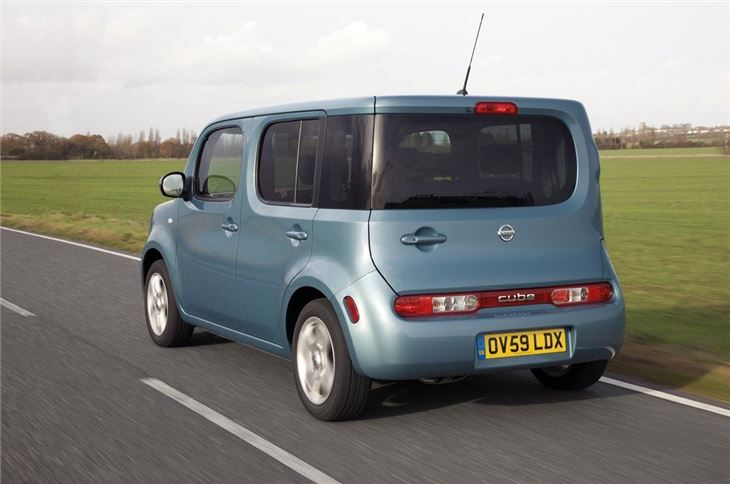 nissan cube 2009 car review honest john. Black Bedroom Furniture Sets. Home Design Ideas