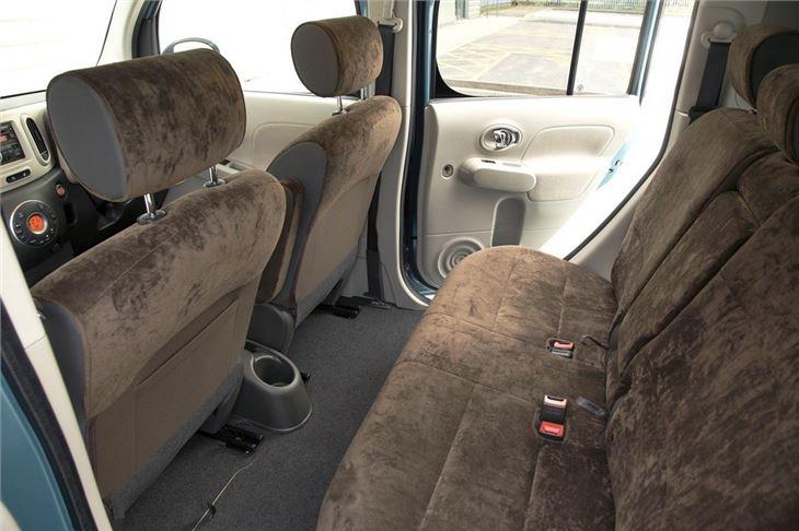 nissan cube 2009 car review honest john. Black Bedroom Furniture Sets. Home Design Ideas