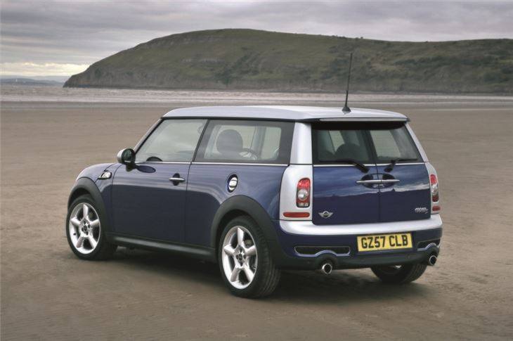 mini clubman r55 2007 car review honest john. Black Bedroom Furniture Sets. Home Design Ideas