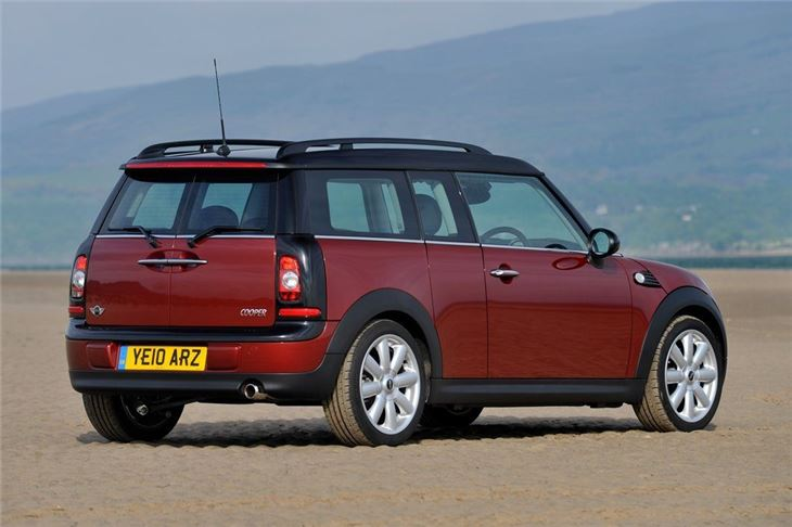 mini clubman r55 2007 car review honest john. Black Bedroom Furniture Sets. Home Design Ideas