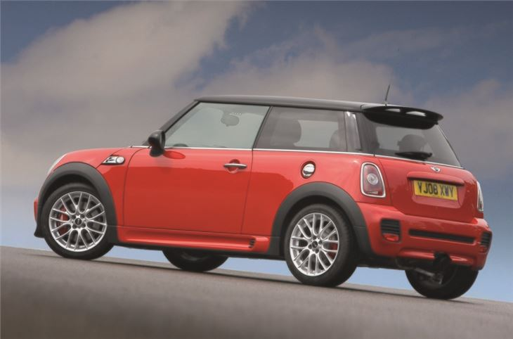 mini john cooper works 2008 car review honest john. Black Bedroom Furniture Sets. Home Design Ideas