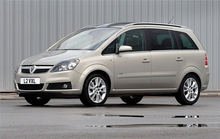 vauxhall zafira b 2005 car review honest john. Black Bedroom Furniture Sets. Home Design Ideas