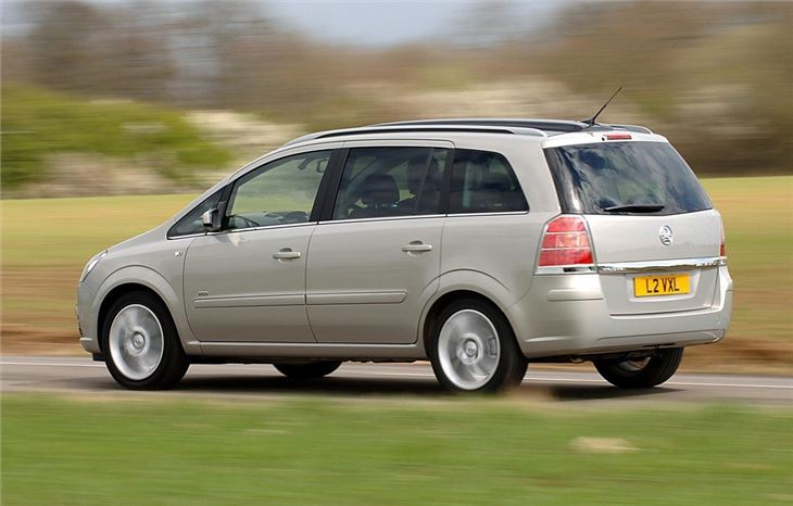 vauxhall zafira 2005 car review honest john. Black Bedroom Furniture Sets. Home Design Ideas