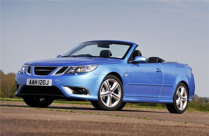saab 9 3 convertible 2003 car review honest john. Black Bedroom Furniture Sets. Home Design Ideas