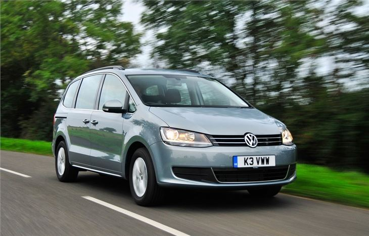 Volkswagen Sharan 2010 Car Review Driving Honest John
