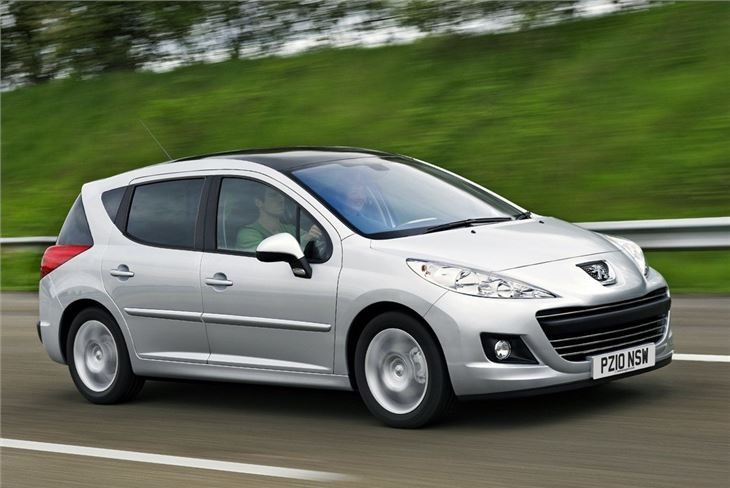 peugeot 207 sw 2007 car review honest john. Black Bedroom Furniture Sets. Home Design Ideas