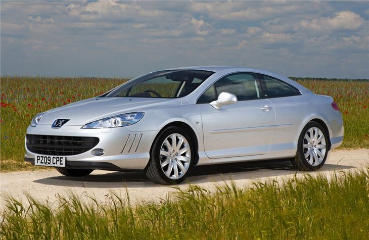 peugeot 407 coupe 2006 car review honest john. Black Bedroom Furniture Sets. Home Design Ideas