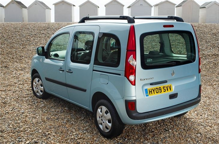 renault kangoo 2009 car review honest john. Black Bedroom Furniture Sets. Home Design Ideas